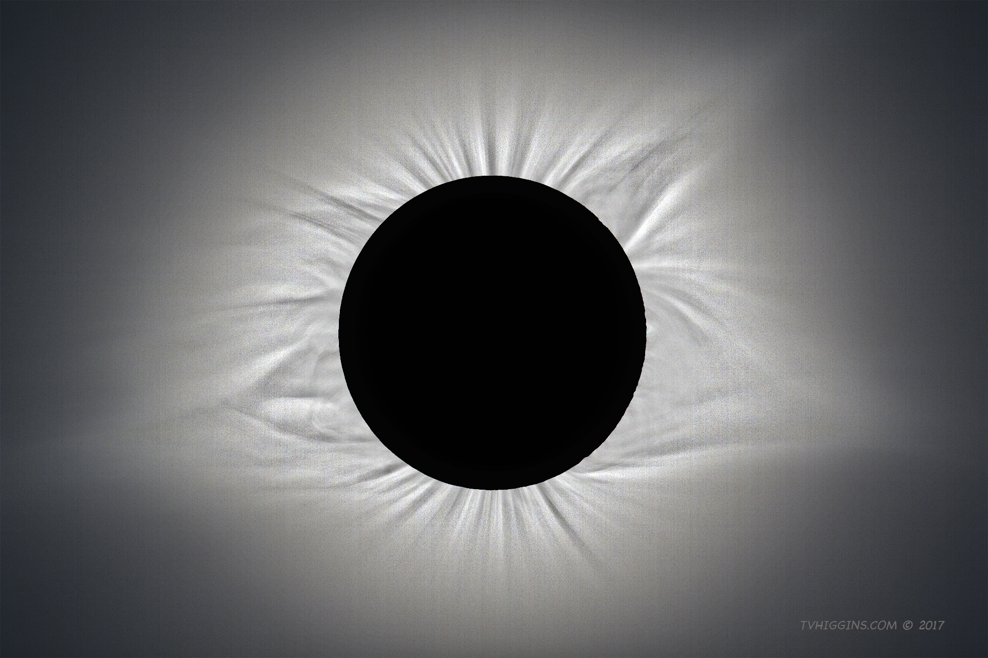 Coronal Study, 2017 Solar Eclipse