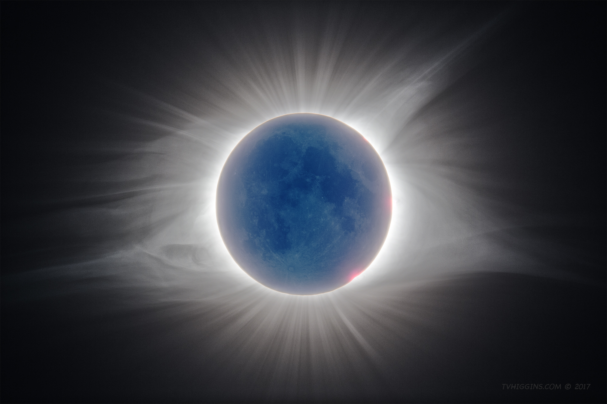 High-Dynamic-Range Image of Solar Corona